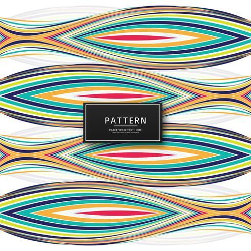 Moderne kleurrijke van het lijnenpatroon illustratie als achtergrond