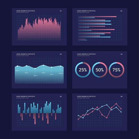 Grafieken UI Kits Concept