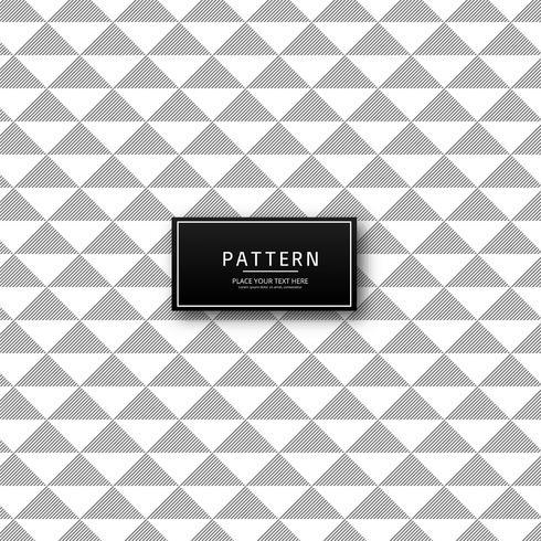 Nahtloses geometrisches Mustervektordesign