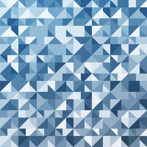Blauwe veelhoek achtergrond vector