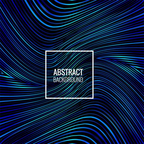 Abstract blue lines shiny background illustration
