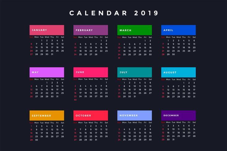 donkere nieuwjaarsagenda voor 2019