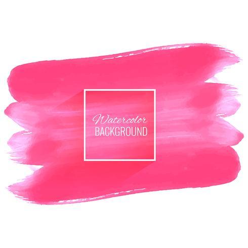 Elegant zacht roze waterverfslagontwerp