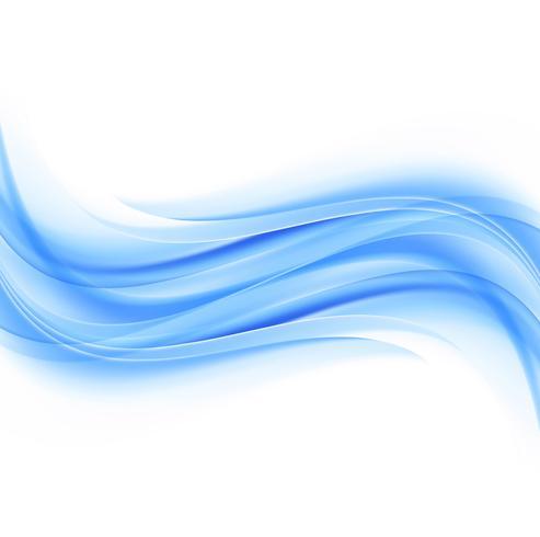 Elegante bedrijfs blauwe golfillustratie als achtergrond