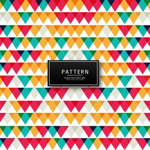 Geometrische kleurrijke patroonillustratie als achtergrond