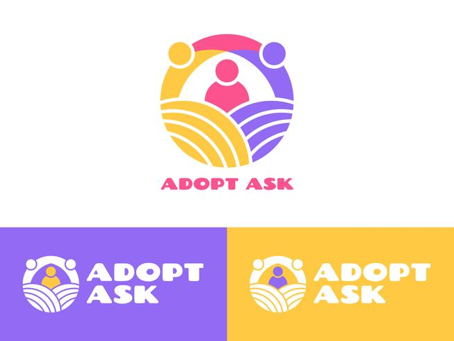 Unieke internationale adoptiebewustzijnsvectoren