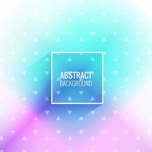 Abstracte kleurrijke geometrische achtergrond vector