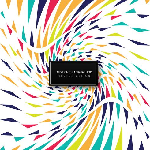 Abstract colorful modern background vector