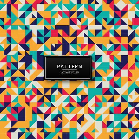 Modern kleurrijk patroonontwerp
