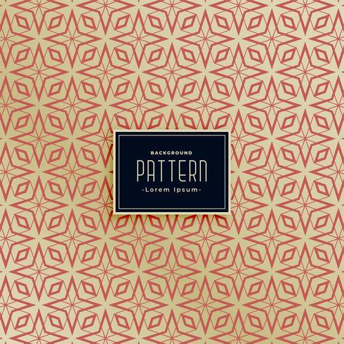 beautiful abstract islamic style pattern