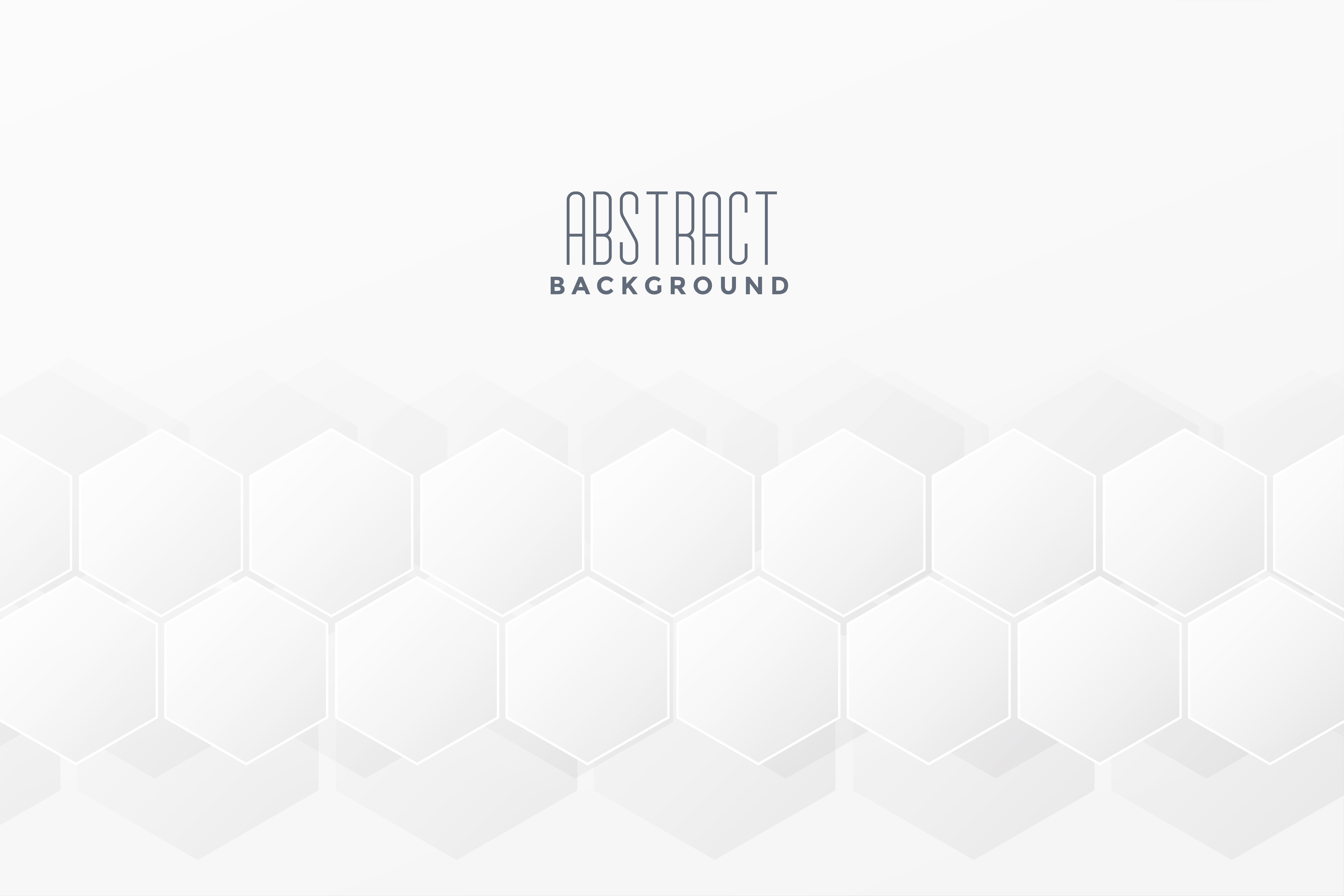 subtle white background with hexagonal pattern