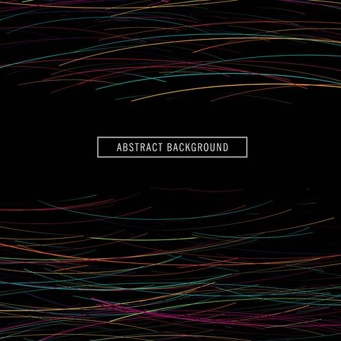 Abstract colroful bright lines background vector