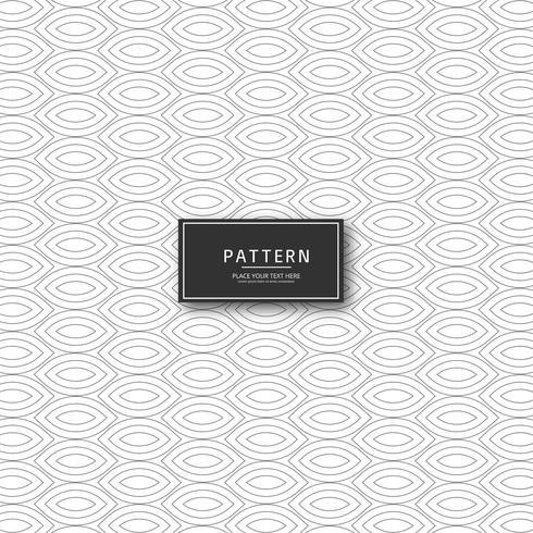 Diseño creativo patrón geométrico vector