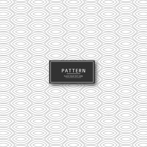 Kreatives Design des geometrischen Musters vektor