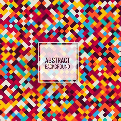 Elegant colorful mosaic background illustration