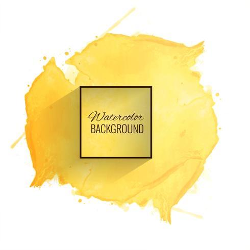 Fondo de acuarela amarillo suave hermoso