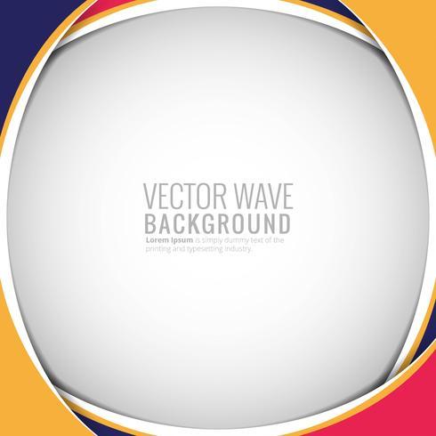 Abstrakt färgrik cirkulär vågbakgrund