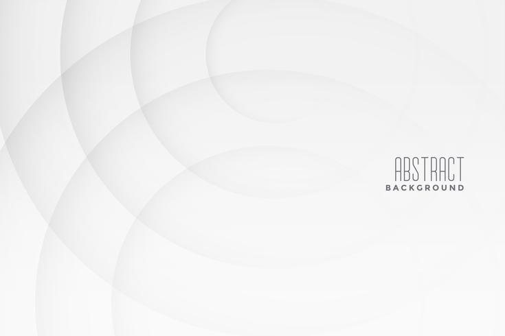 astratto sfondo bianco e grigio con linee curve