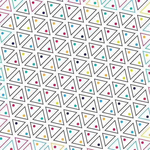 Abstrakt trekant färgrik mönster bakgrund