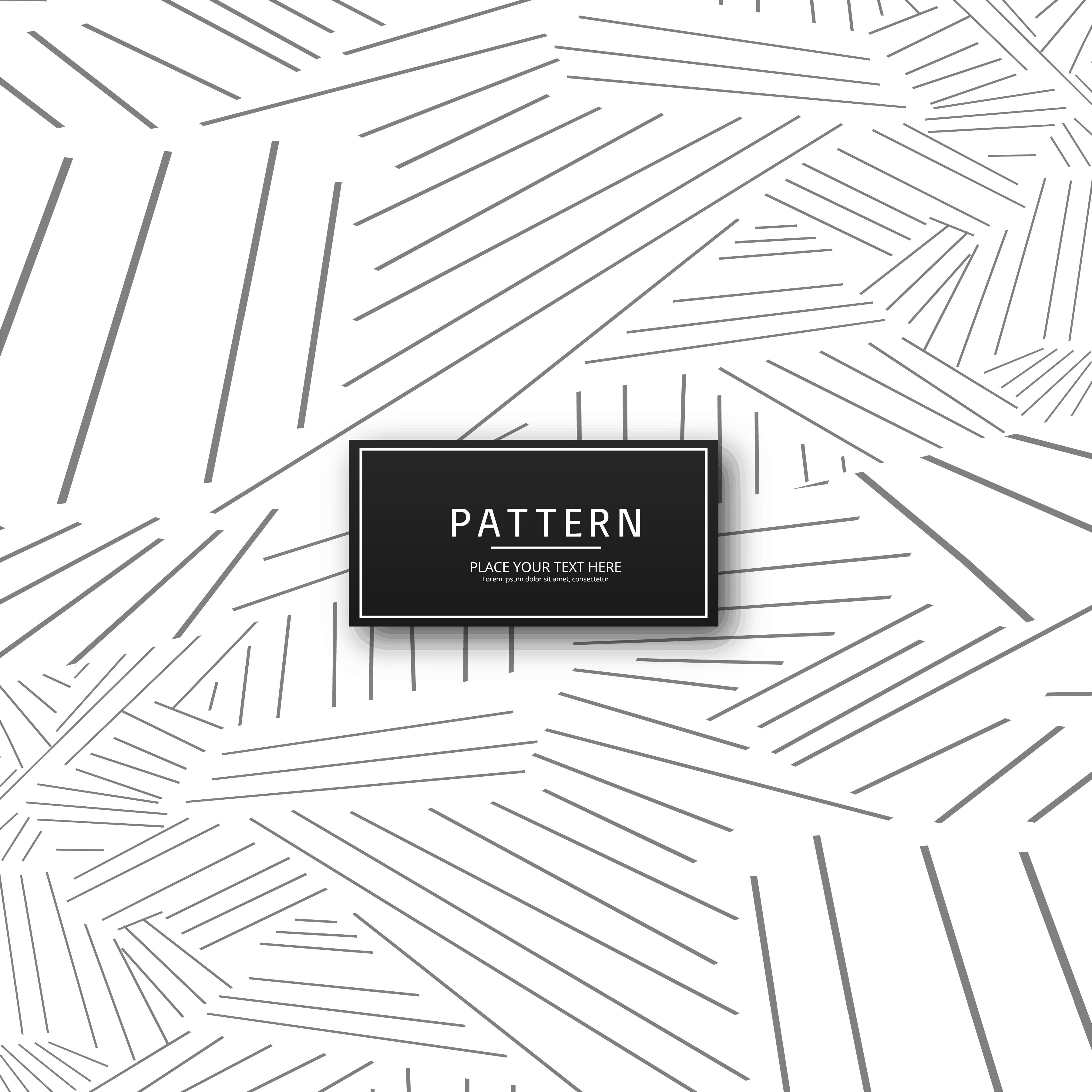 abstract geometric gray lines pattern design