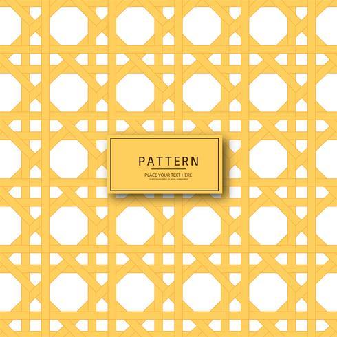 Fondo abstracto geométrico patrón amarillo