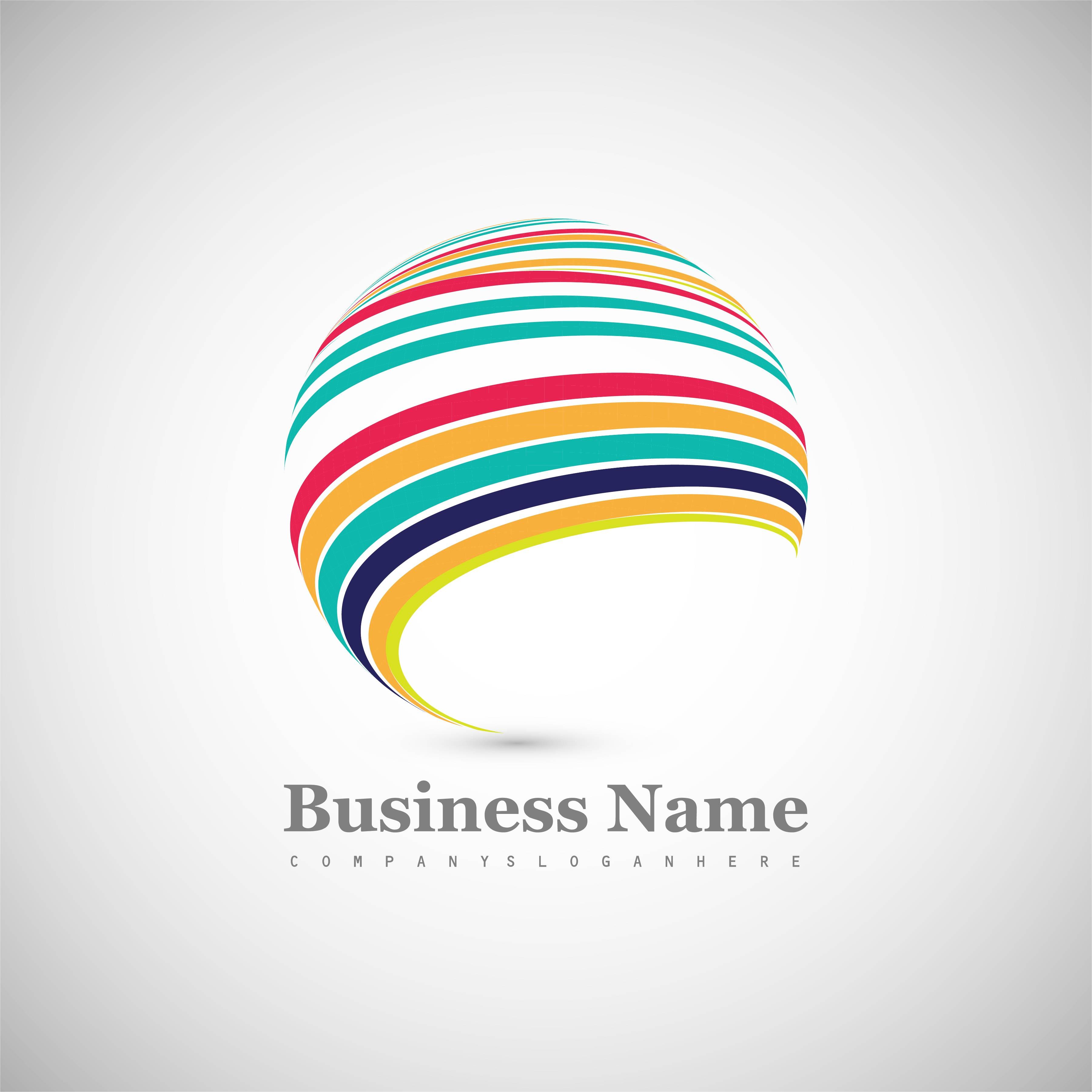 Beautiful Colorful Sphere Creative Logo Design Download Free Vectors Clipart Graphics Vector Art,French Interior Design Company Names