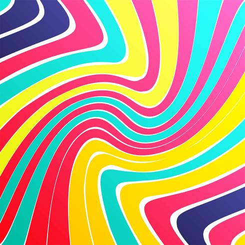Modern colorful lines bright backgroind vector illustration