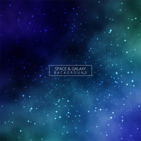 Univers fond coloré de galaxie