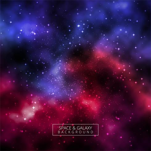 Beautiful universe galaxy colorful background