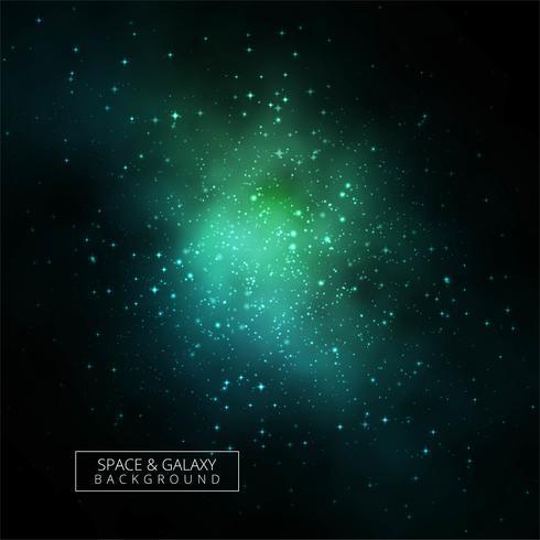 Abstrakt glänsande galax bakgrunds vektor