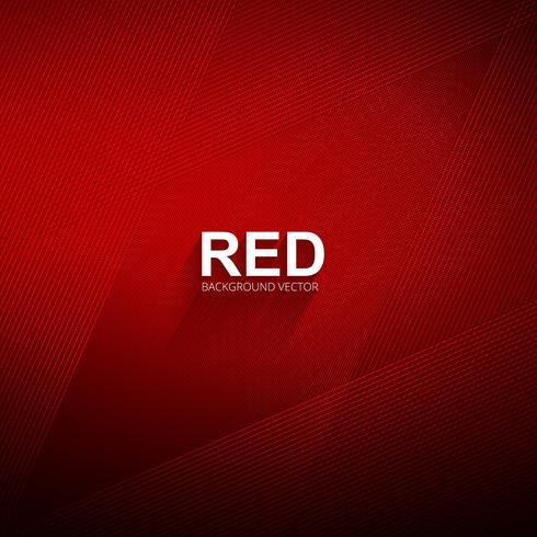 Elegant glänsande röda linjer bakgrunds vektor