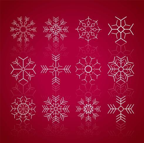 Modern mery jul bakgrund