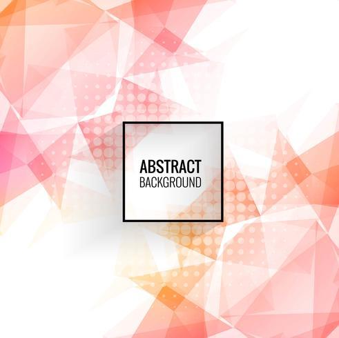 Abstrakt färgrik geometrisk polygon bakgrund vektor