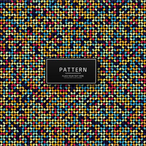 Modern geometrisch kleurrijk naadloos patroonontwerp