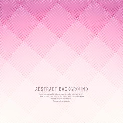 Abstract pink lines background vector