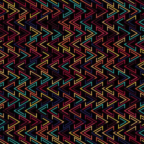 Illustrazione geometrica del fondo del modello di colroful