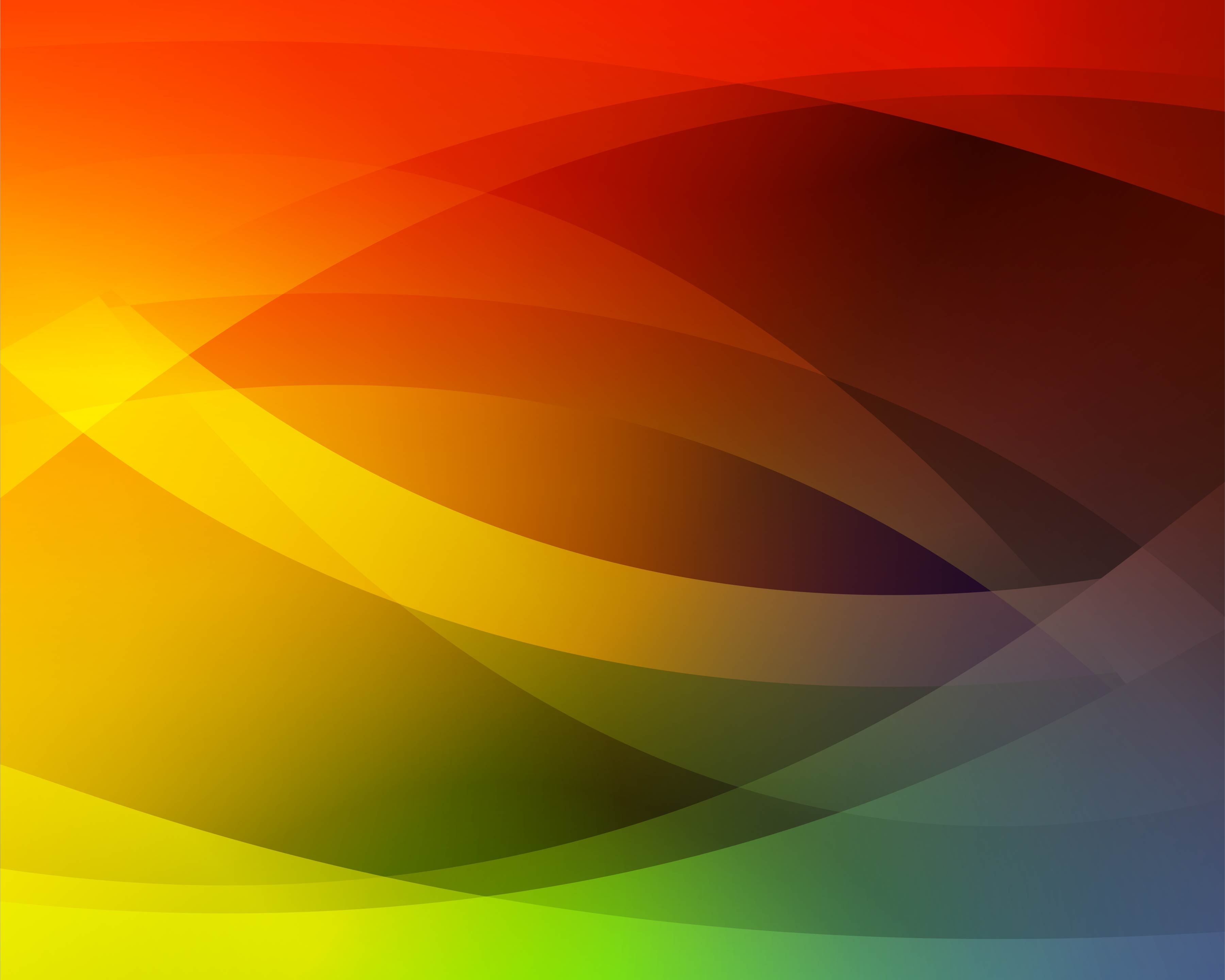 Abstract Volleyball On Colorful Wave Background: Abstract Colorful Wave Background Vector