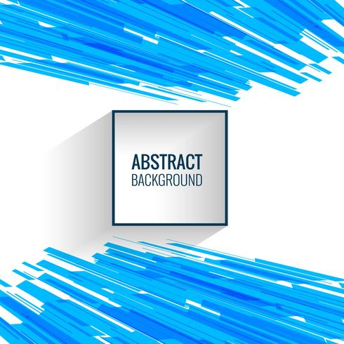 Abstract blue lines creative background