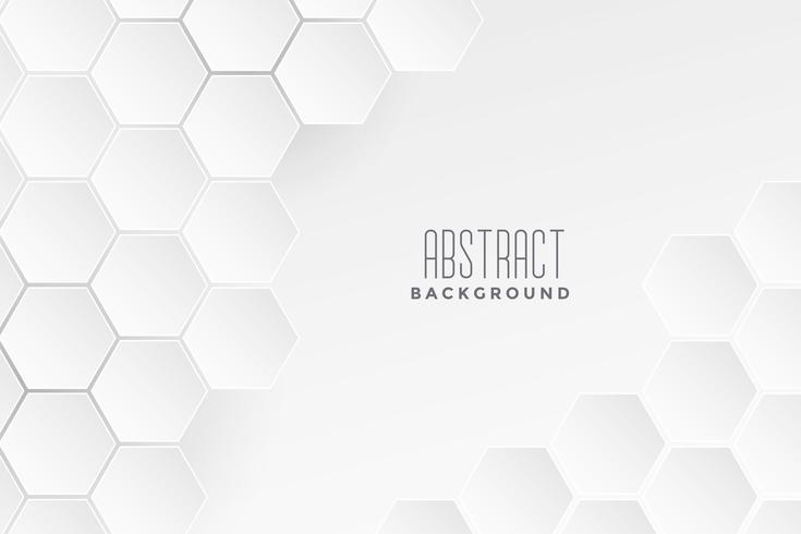 fond blanc concept médical géométrique