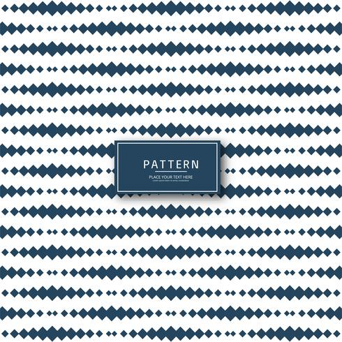 Modern geometrisk mönster illustration vektor