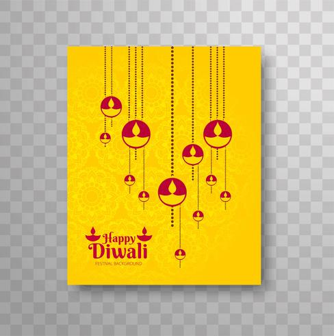 Modern dilwali brochure design