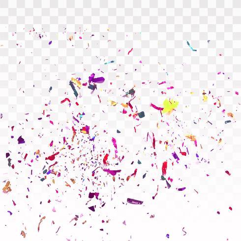 Fond de confettis coloré