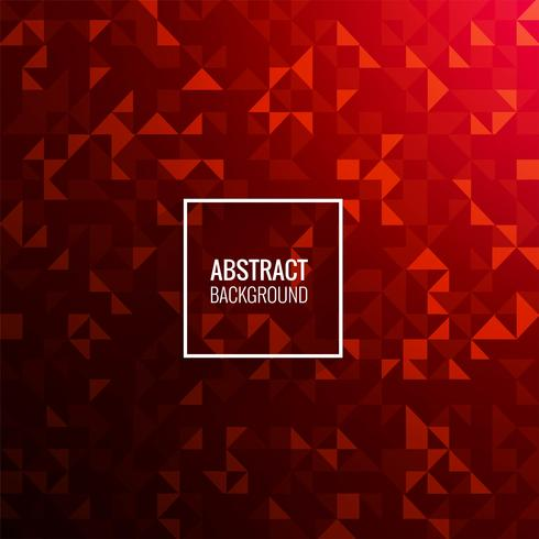 Modern red geometric background illustration vector