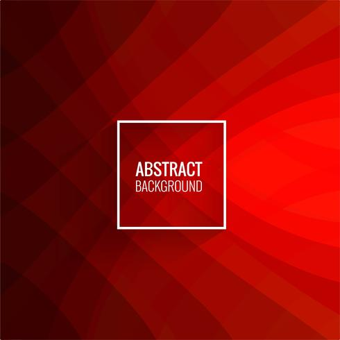 Abstract red papercut background vector