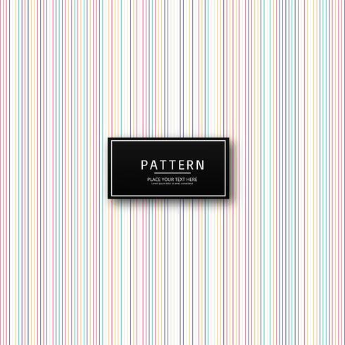 Abstrakter colroful Linien Musterhintergrund vektor