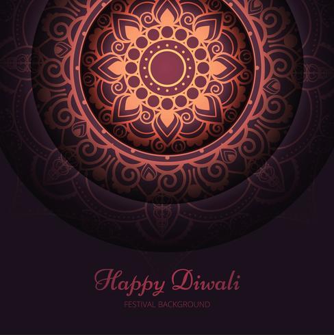 Bello fondo brillante astratto di diwali