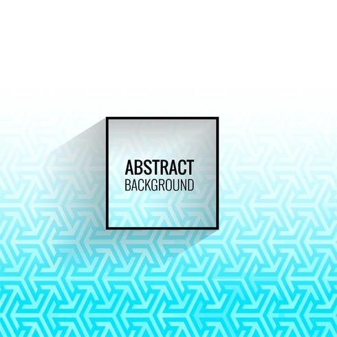 Modern blå geometrisk form bakgrund vektor
