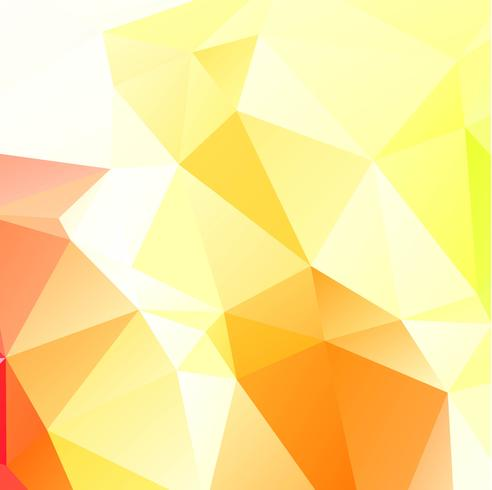 Geometrisk ljus polygon färgstark bakgrund