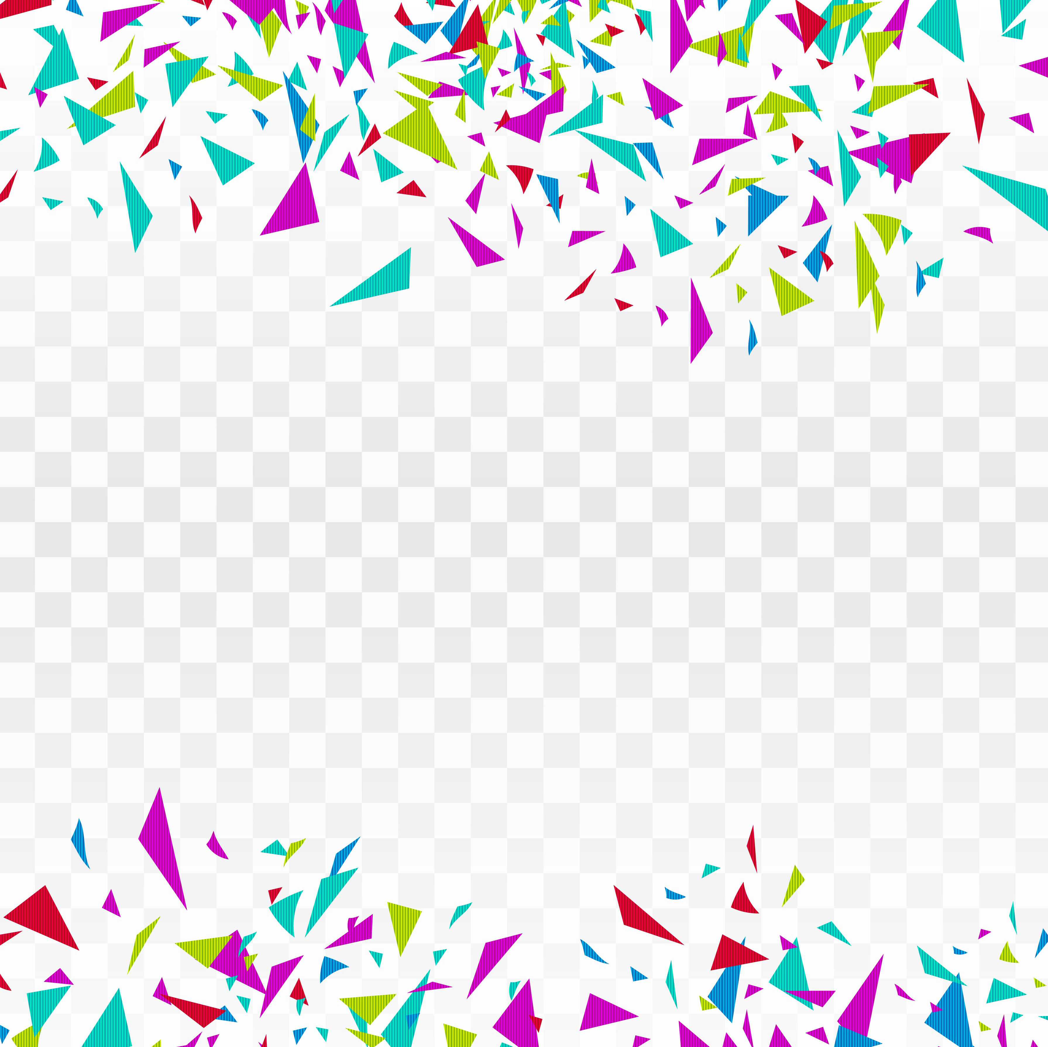 abstract background party celebration colorful confetti design