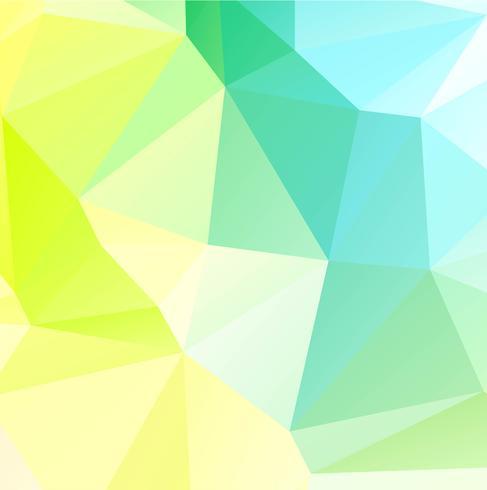 Abstrakt geometrisk färgglad polygonbakgrund